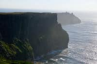 The views are breathtaking along the Cliffs of Moher, massive shale and sandstone cliffs that rise 150 feet out of the sea on Ireland's western coast.(J. David McSwane/Staff)