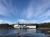 The Lagavulin Distillery in Islay, Scotland, produces some of the world's best spirits.(Lauren McGaughy/Staff)