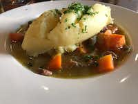 The lamb stew with mashed potatoes at P.F. McCarthy's in Kenmare, Ireland, was part of the best meal of our trip.(Lauren McGaughy/Staff)