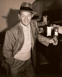 Bing Crosby feeling no pain, circa 1940. From <i>Bing Crosby: Swinging on a Star</i>, by Gary Giddins.(HLC Properties Inc./Little, Brown)