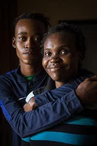 Ingrid and Liam Kealotswe photographed on Saturday, May 19, 2018, in Gaborone. ( Smiley N. Pool / © 2018 )