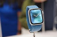 The Apple Watch 4 starts at $399. (Christoph Dernbach/DPA/TNS)