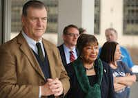 """<p><span style=""""font-size: 1em; background-color: transparent;"""">While North Texas is about to lose a lot of clout in Congress, Dallas Mayor Mike Rawlings said Rep. Eddie Bernice Johnson, D-Dallas, will be a key leader in a Democratic House: """"We've got a Superwoman with Eddie Bernice Johnson.""""</span></p>(Andy Jacobsohn/Staff Photographer)"""