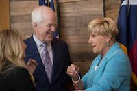 """Fort Worth Mayor Betsy Price expressed confidence that North Texas will """"be fine"""" in the new Congress. Among the lawmakers to earn her praise was Sen. John Cornyn, who will still be a player in the GOP-run Senate.(Daniel Carde/Staff Photographer)"""