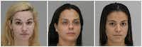 Victoria Simonds, Donna Gonzalez, Peaches Hurtado<div><br></div>(Dallas County Sheriff's Office)