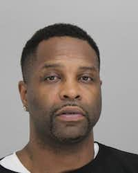 Authorities arrested Tremont Blakemore along with Donna Gonzalez and Peaches Hurtado on Tuesday at a house in the 12400 block of Yellow Wood Drive in Fort Worth in connection with a large prostitution and human-trafficking operation.(Dallas County Jail)