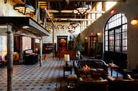 The Hotel Emma's repurposing of a historic 1880s brewery adds to its ambience. The casual-elegant hotel opened in 2015.(Nicole Franzen/The Hotel Emma)
