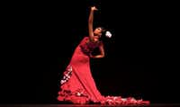 Seville is a great place to catch a flamenco performance, like this one by dancer Andrea Fernandez. (2010 File Photo/The Associated Press)