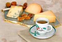 Black tea makes a good match for hard and aged cheeses.(Louis DeLuca/Staff Photographer)