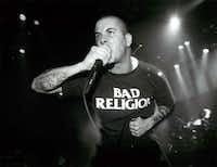 Pantera vocalist Phillip Anselmo and bandmates rocked the Bronco Bowl in the early 90s.(Judy Walgren)