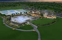 <p>Del Webb's Trinity Falls community will have a 12-acre amenities center.</p>(Trinity Falls)