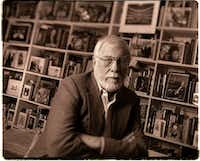 John Ardoin, photographed in his Dallas studio in 1998, the year he retired as music critic for <i>The Dallas Morning News</i>.(Joe Stefanchik/Staff Photographer)