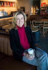 Traci York, regional vice president for Starbucks.(Carly Geraci/Staff Photographer)