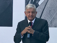 President-elect Amdres Manuel Lopez Obrador takes office Saturday..  (Alfredo Corchado /The Dallas Morning News)