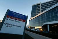 UT Southwestern's William P. Clements Jr. University Hospital(Nathan Hunsinger/Staff Photographer)