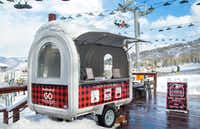 Aspen Snowmass is serving free candy cane-flavored s'mores for the holiday season. (Hal Williams Photography /Aspen Snowmass)