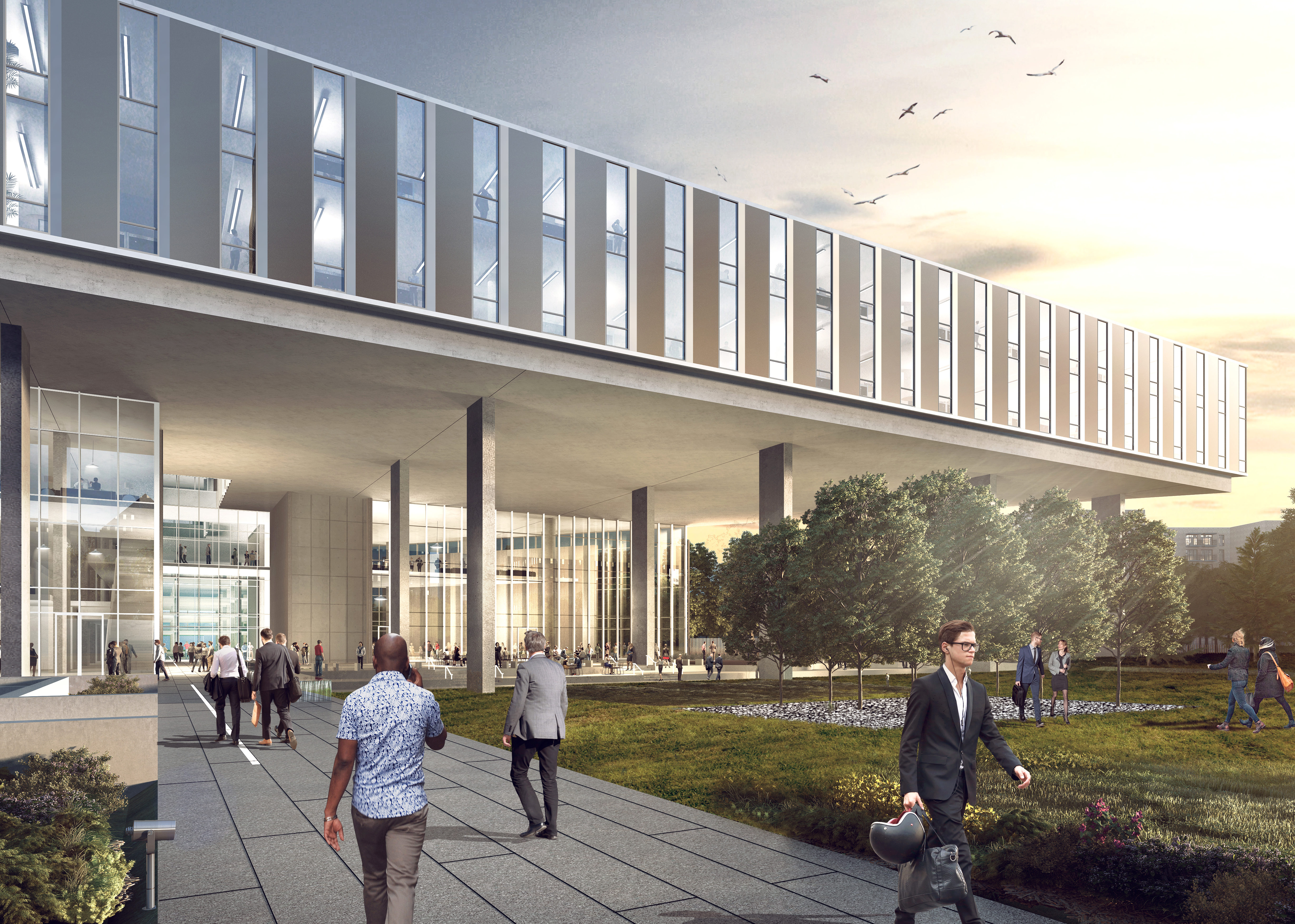 First Look At Baylor Scott White S Huge New East Dallas Office