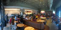 The Red Bird Starbucks was hopping Sunday afternoon when customer and Dallas  businessman Randy Bowman stopped by.(Randy Bowman)