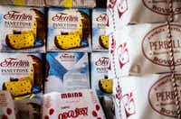 Panettone, an Italian sweet bread, at Jimmy's Food Store in Dallas(Carly Geraci/Staff Photographer)