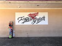 A tamale sign on the outside of La Ranchera market in East Dallas.(Erin Booke)