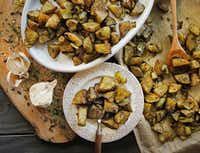 Roasted Turmeric Ginger Green Tea Gold Potatoes(Louis DeLuca/Staff Photographer)