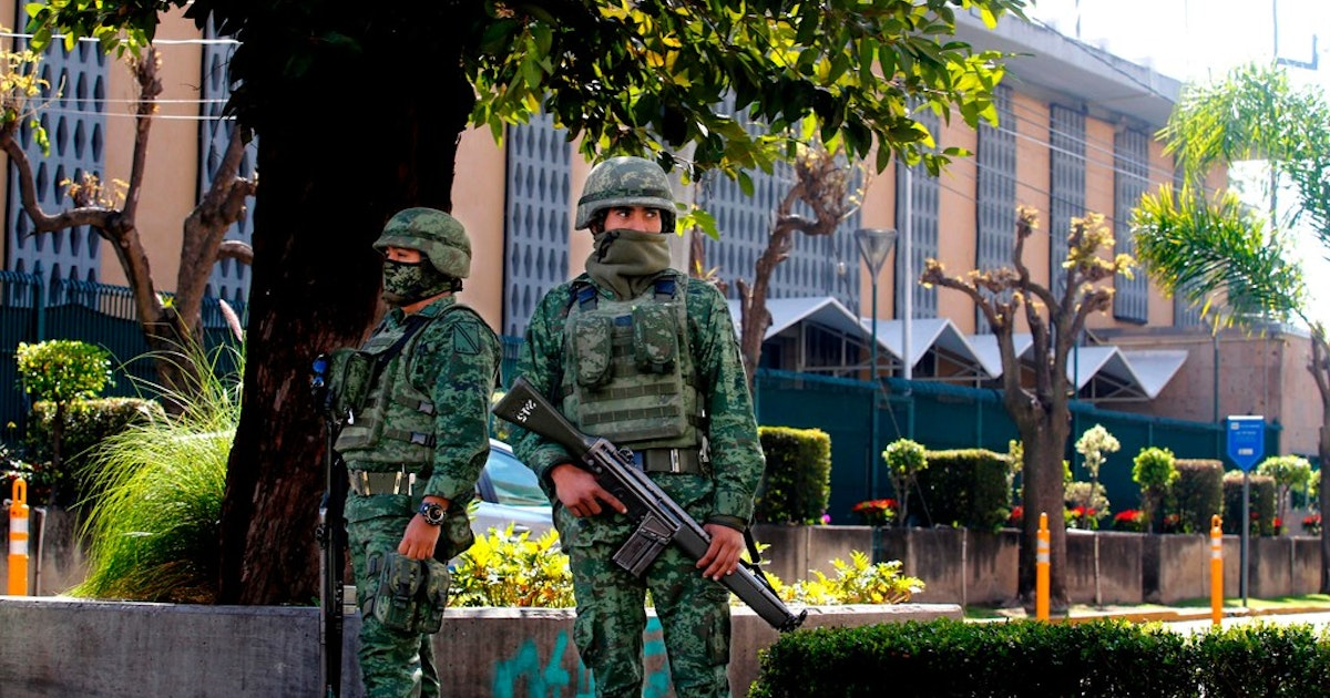 Grenade Attack On Us Consulate May Be An Ominous Warning For - Us-consulates-in-mexico-map