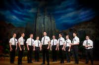"<p><i> The Book of Mormon</i>, was presented by AT&T Performing Arts Center at Winspear Opera House as part of the company's Broadway Series in 2016. It <span style=""font-size: 1em; background-color: transparent;"">will be at Fair Park Music Hall Jan. 29-Feb. 3.</span></p><p></p>(Joan Marcus)"