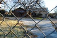 Lane Plating Works is locked, its owner in bankruptcy and its land contaminated.(Brian Elledge/Staff Photographer)