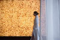 A Himalayan salt wall adds to the ambience at the Four Seasons Austin spa.(Peter Vitale/Four Seasons Austin)