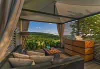 This terrace with a hilltop view is among the tranquil spots at Loma de Vida Spa at La Cantera Resort & Spa in San Antonio.(La Cantera Resort & Spa/Courtesy)