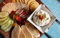 Hickory and alder wood smoked salmon spread (Rose Baca/Staff Photographer)