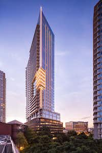 Endeavor Real Estate developed the 36-story Bowie mixed-use tower in downtown Austin.(Endeavor Real Estate)