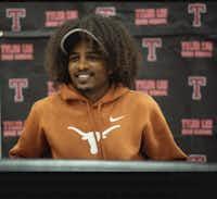 Heftu Knight won an athletic scholarship to the University of Texas at Austin.(via Lori Knight)