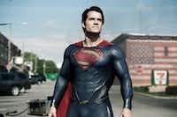 Henry Cavill as Superman in&nbsp;<i>Man of Steel</i>.(Clay Enos/Warner Bros.)