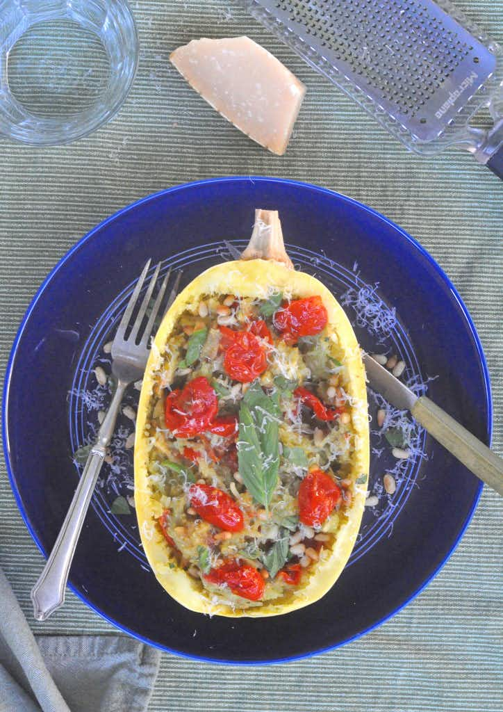 2 easy spaghetti squash recipes made from pantry ingredients