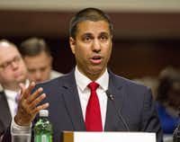 """Combating illegal robocalls is our top consumer priority at the FCC,"" Chairman Ajit Pai said in a statement.(Ron Sachs/CNP/TNS)"