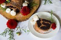 A chocolate espresso buche de noel(Ashley Landis/Staff Photographer)