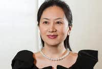 Huawei finance chief Meng Wanzhou (TNS)