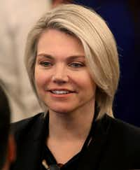 """<p>Heather Nauert, a former Fox TV host, will be nominated as the<span style=""""font-size: 1em; background-color: transparent;"""">next U.S. ambassador to the United Nations.</span></p>(Mark Wilson/Getty Images)"""