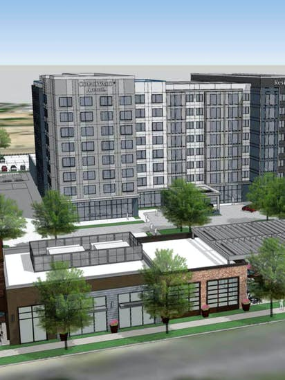 Dallas Airport Hotels >> 280 Room Hotel New Retail Stores On The Way Near Dallas Love Field