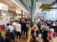 "<p><span style=""font-size: 1em; background-color: transparent;"">Eataly Las Vegas is designed to evoke the feel of a large European market, with high ceilings and big windows like this Eataly location in Munich, Germany.</span></p>(Travis Pinson/Special Contributor)"