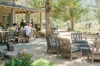 McEvoy Ranch offers indoor and outdoor (pictured here) olive and wine tastings.(McEvoy Ranch/Courtesy)