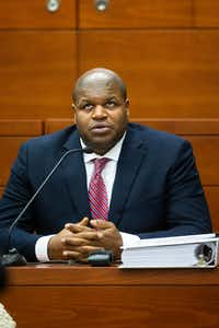 """<p><span style=""""font-size: 1em; background-color: transparent;"""">Josh Brent testified Monday that he wasn't intoxicated when he arrived at Beamers on the night of the crash that killed Jerry Brown but that he was when he left the club.</span></p>(Shaban Athuman/Staff Photographer)"""