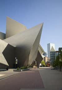The Hamilton building at the Denver Art Museum.  (Jeff Wells DAM Photographic Service)