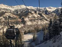 "<p><span style=""font-size: 1em; background-color: transparent;"">The free year-round gondola service links three stations: the town of Telluride, mid-mountain ski and bike trails, and Mountain Village.</span></p>(Robin Soslow/Special Contributor)"