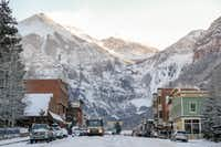 Telluride is one of two fun towns in the Telluride ski region, along with Mountain Village.(Madeline Hotel and Residences/Courtesy)