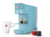Illy Y3.2 Espresso & Coffee Machine in Capetown Blue, $149.(Duccio Zennaro)