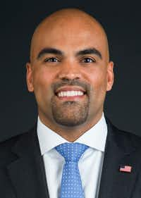 Congressman-elect Colin Allred, as photographed in The Dallas Morning News photo studio, on Wednesday, November 7, 2018 in Dallas. (Ashley Landis/The Dallas Morning News)(Ashley Landis/Staff Photographer)