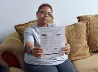 "<p><span style=""font-size: 1em; background-color: transparent;"">Hickson got a bill for about $3,620, the balance calculated as her share by the hospital after the insurance reimbursement. No one told her she qualified for financial assistance to cover her portion until she called the hospital.</span></p>(Shane Wynn/Kaiser Health News)"