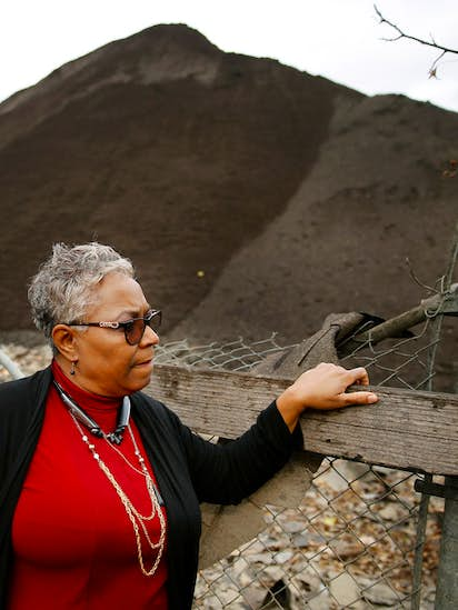 It's unacceptable': Why a Dallas woman lives next to mountains of